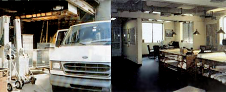 Van and Working Room