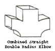 Combined Straight Double Radius Elbow Design